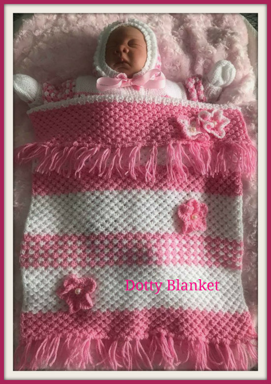 Dotty blanket...161